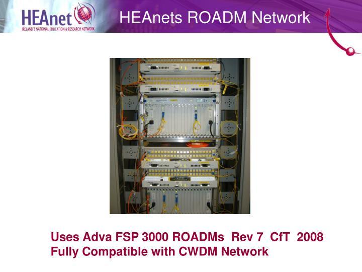HEAnets ROADM Network