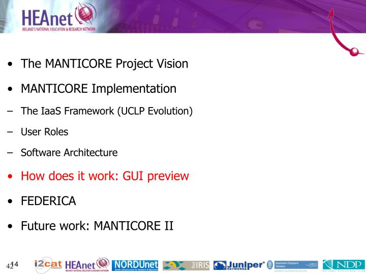 The MANTICORE Project Vision