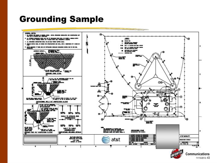 Grounding Sample