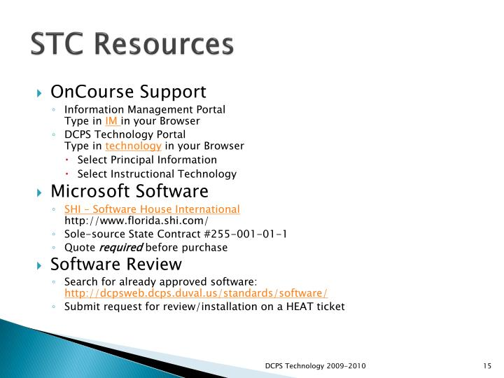 STC Resources