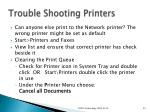 trouble shooting printers1