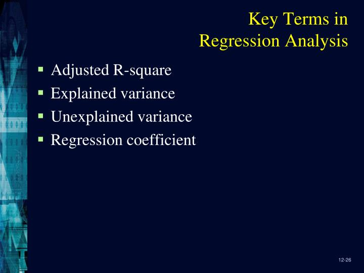 Key Terms in