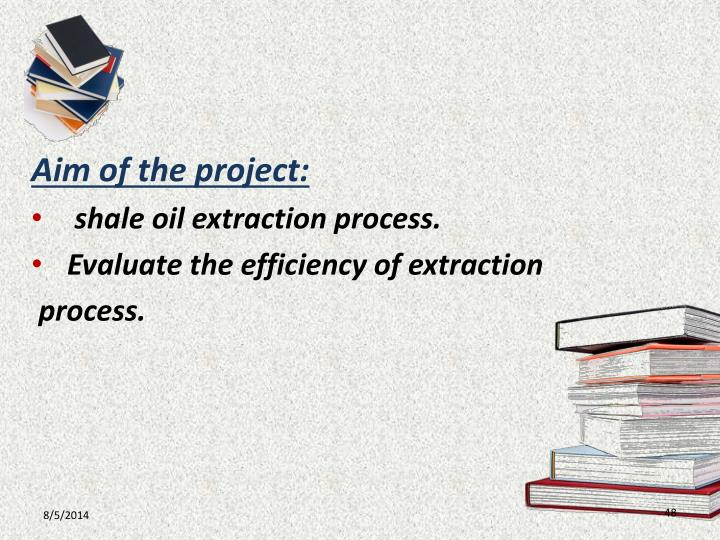 Aim of the project: