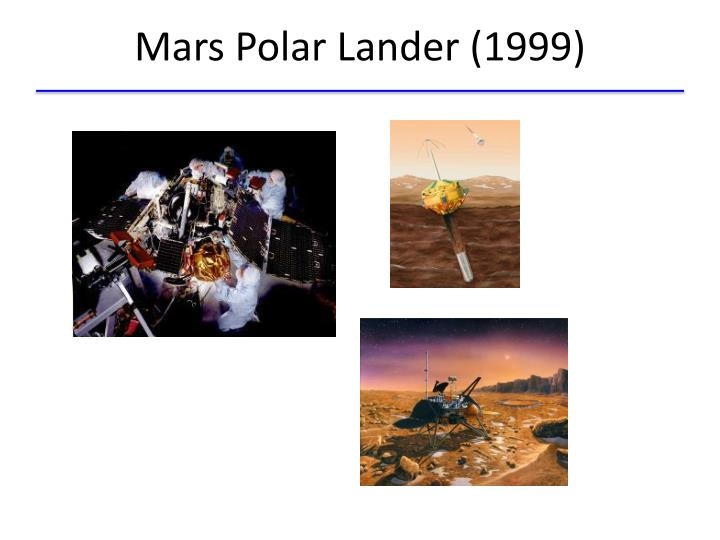 Mars Polar Lander (1999)