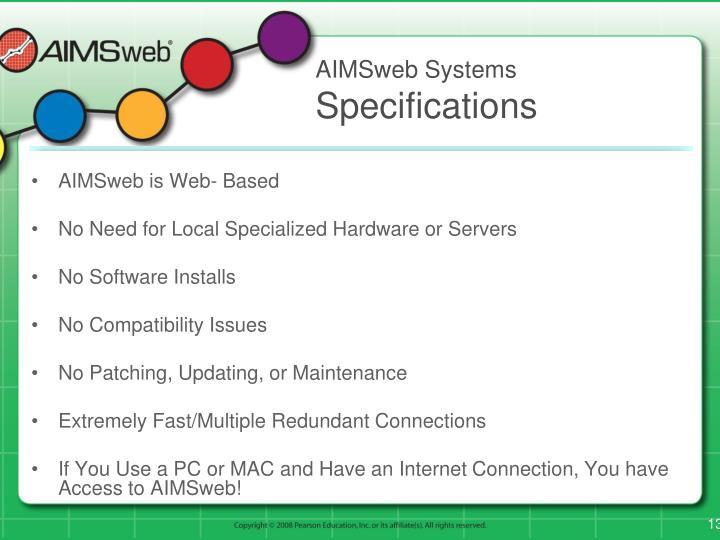 AIMSweb Systems