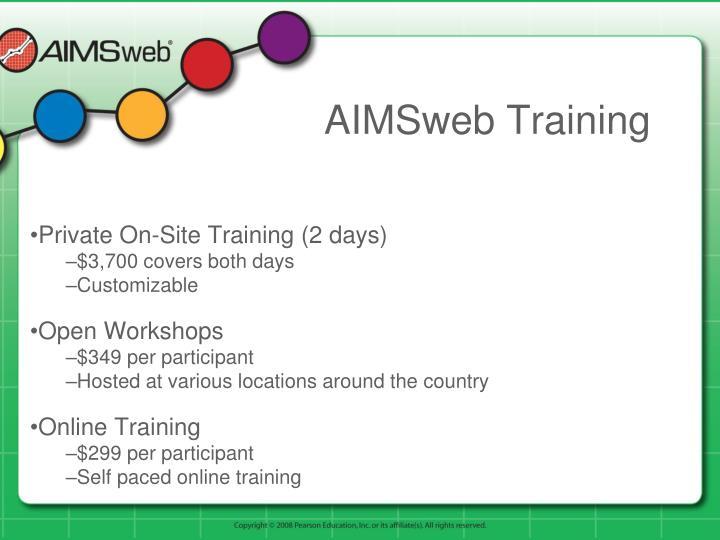 AIMSweb Training
