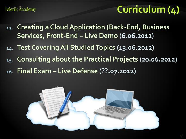 Curriculum (4)