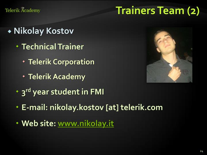 Trainers Team (2)
