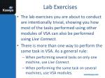 lab exercises