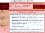 live connect function overview