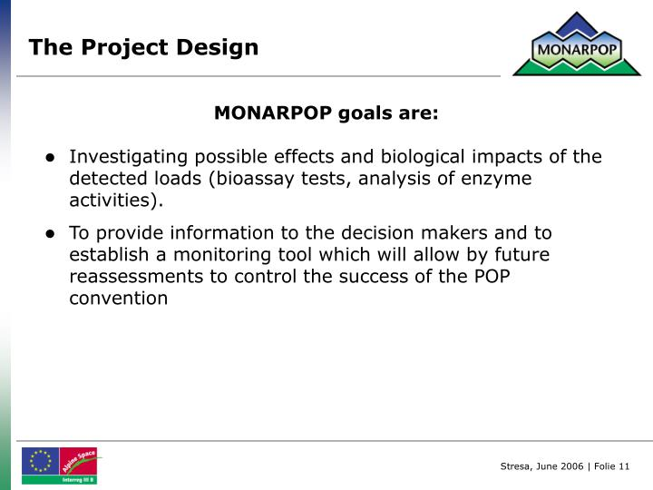 The Project Design