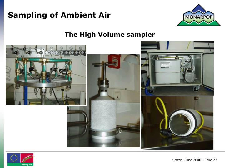 Sampling of Ambient Air