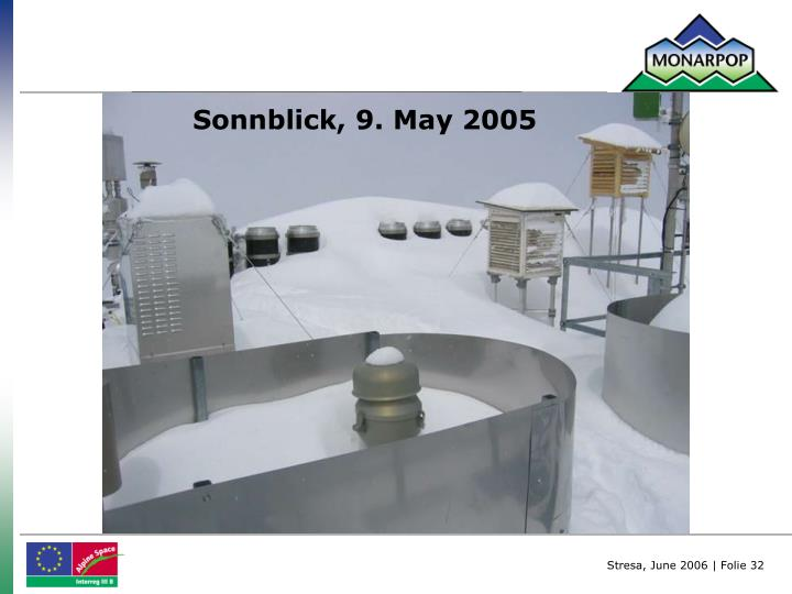 Sonnblick, 9. May 2005