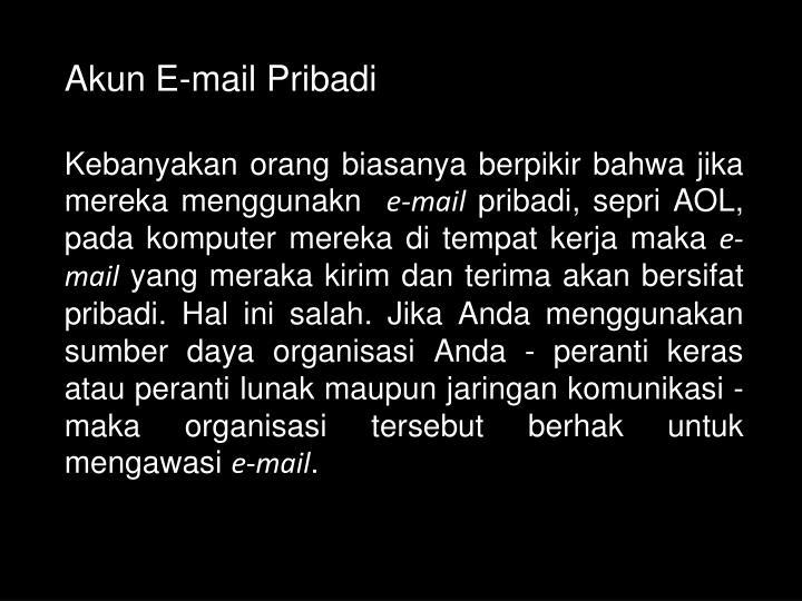 Akun E-mail