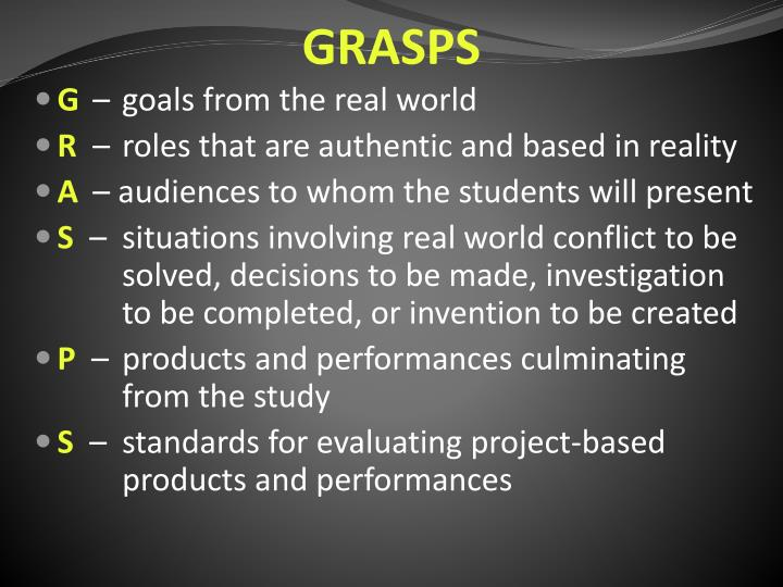 GRASPS