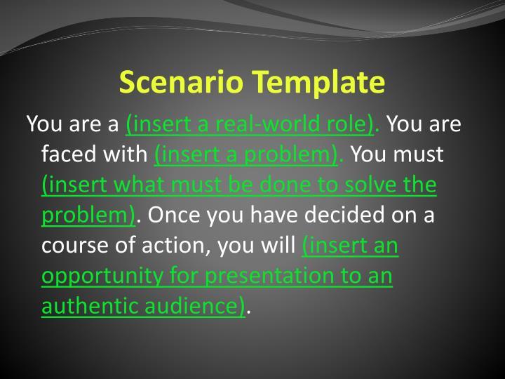 Scenario Template