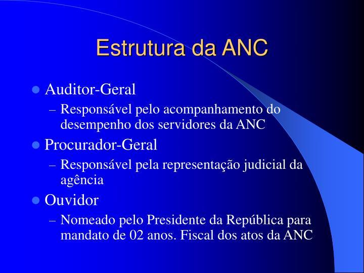 Estrutura da ANC