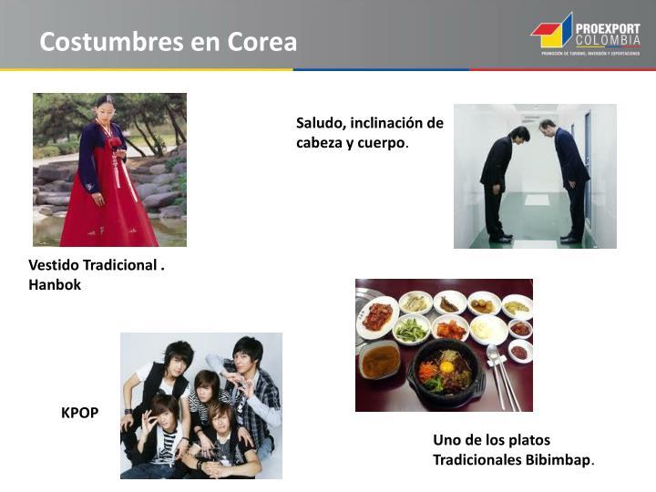Costumbres en Corea