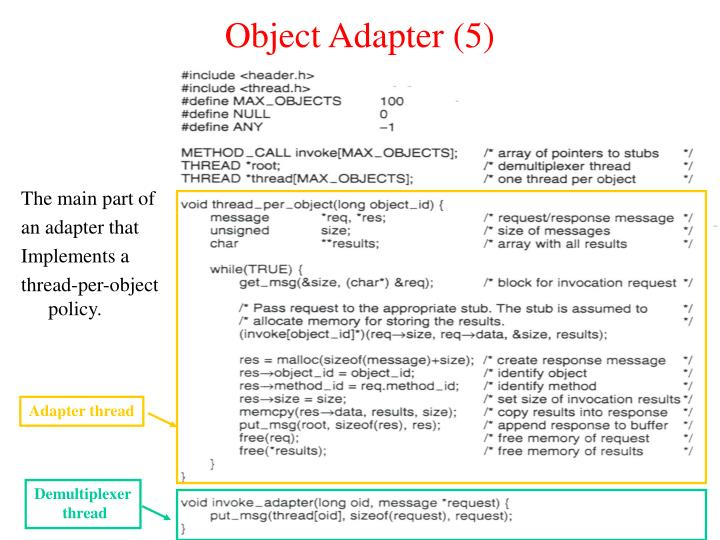 Object Adapter (5)