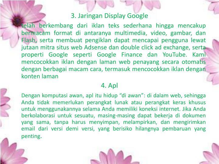3. Jaringan Display Google
