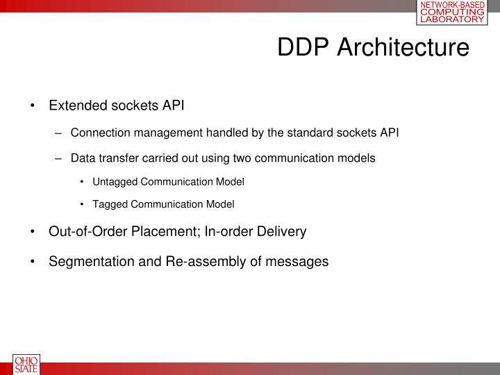 DDP Architecture