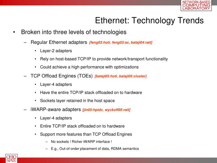 Ethernet technology trends