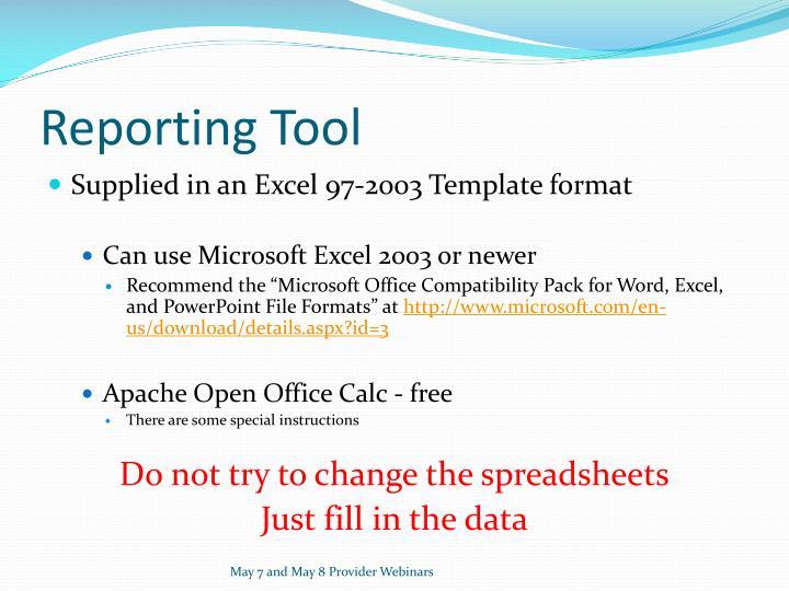 Reporting Tool