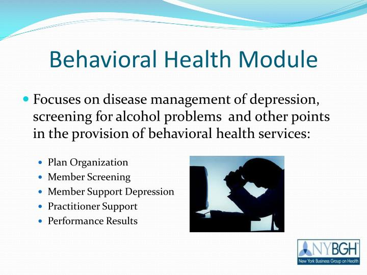 Behavioral Health Module