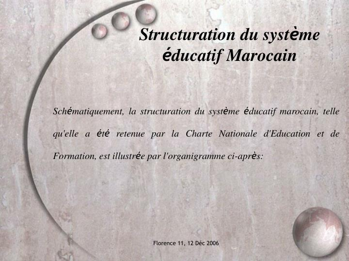 Structuration du syst