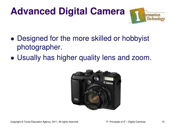 Advanced Digital Camera