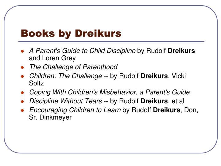 Books by Dreikurs