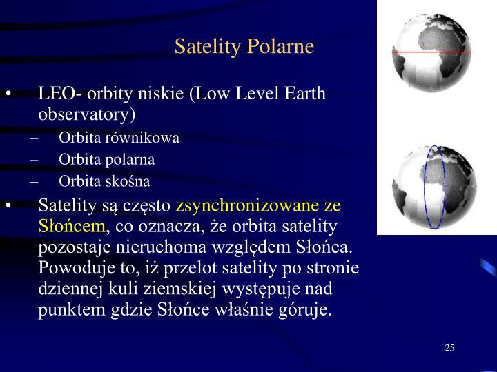 Satelity Polarne