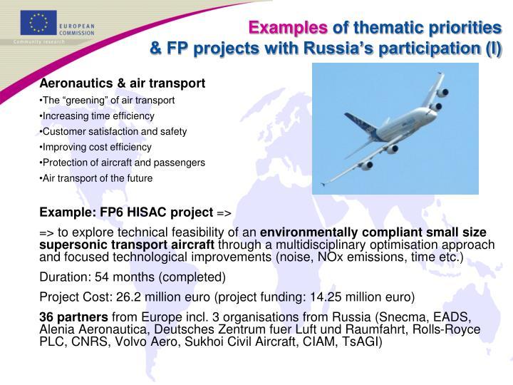 Aeronautics & air transport