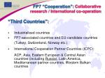 fp7 cooperation collaborative research international co operation