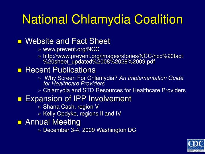 National Chlamydia Coalition
