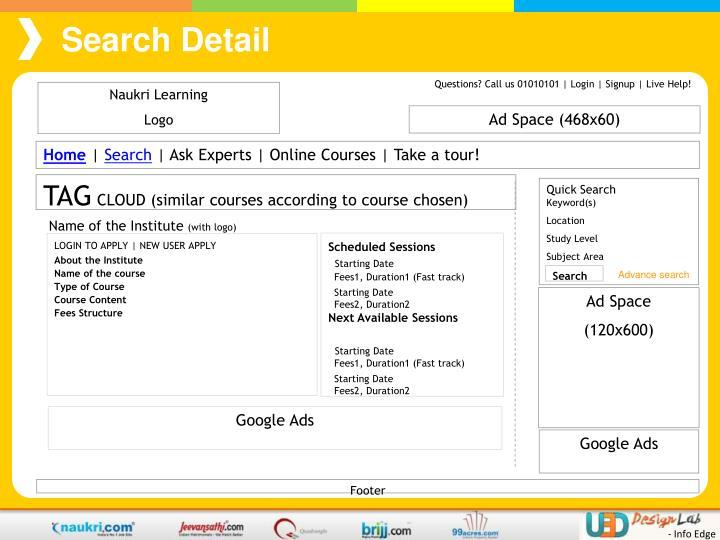 Search Detail