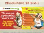 messaggistica per privati