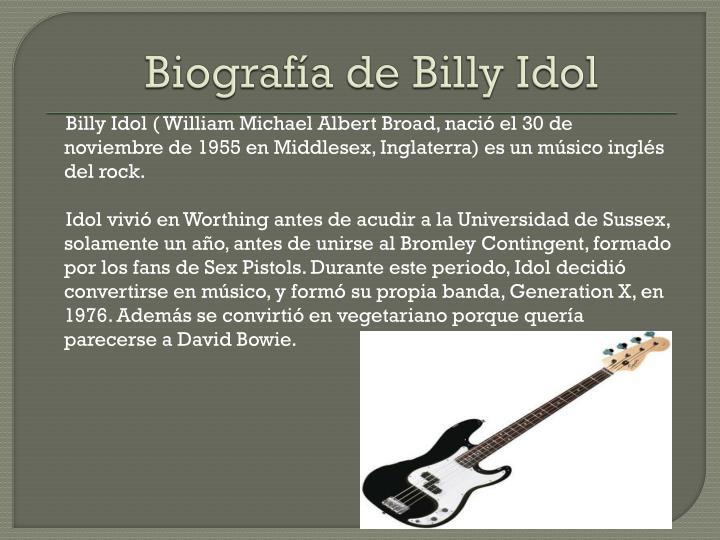 Biografía de Billy