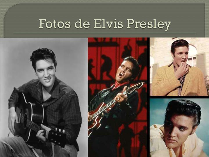 Fotos de Elvis