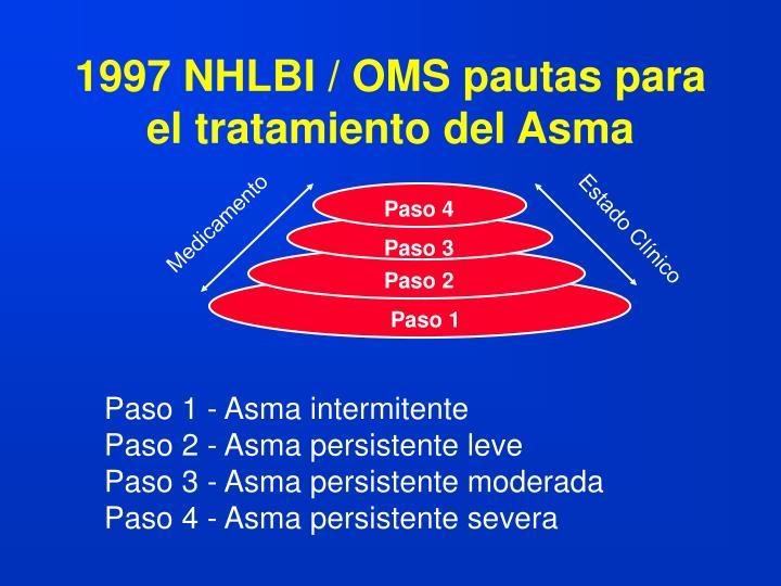 1997 NHLBI / OMS pautas para el tratamiento del Asma