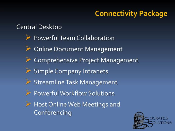 Connectivity Package