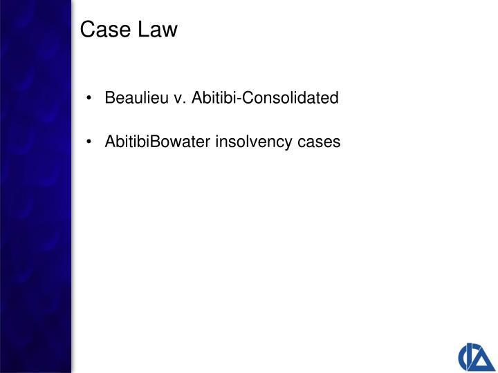 Beaulieu v. Abitibi-Consolidated
