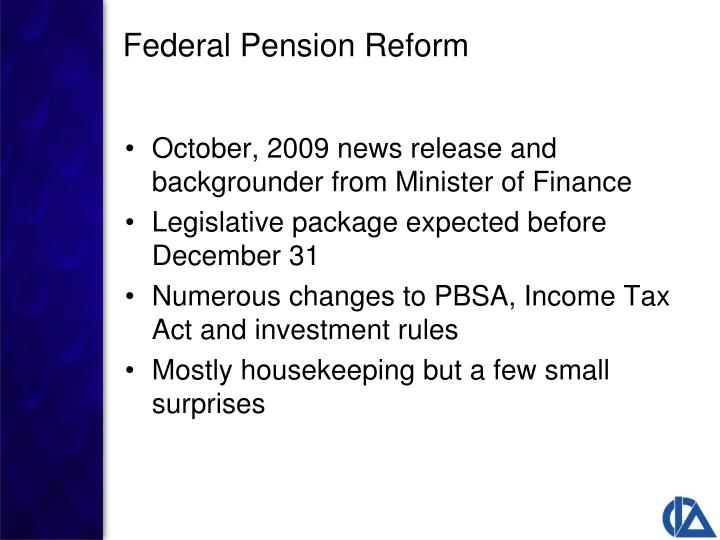 October, 2009 news release and backgrounder from Minister of Finance