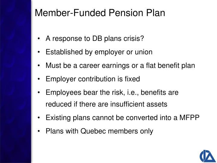 A response to DB plans crisis?