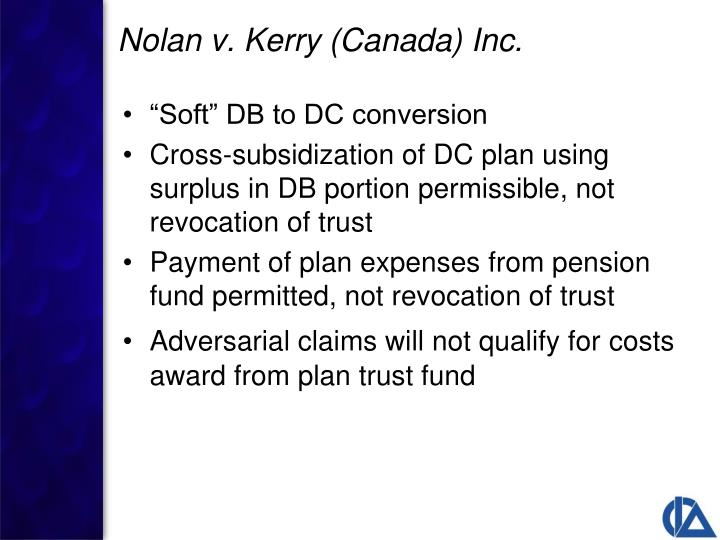 """Soft"" DB to DC conversion"