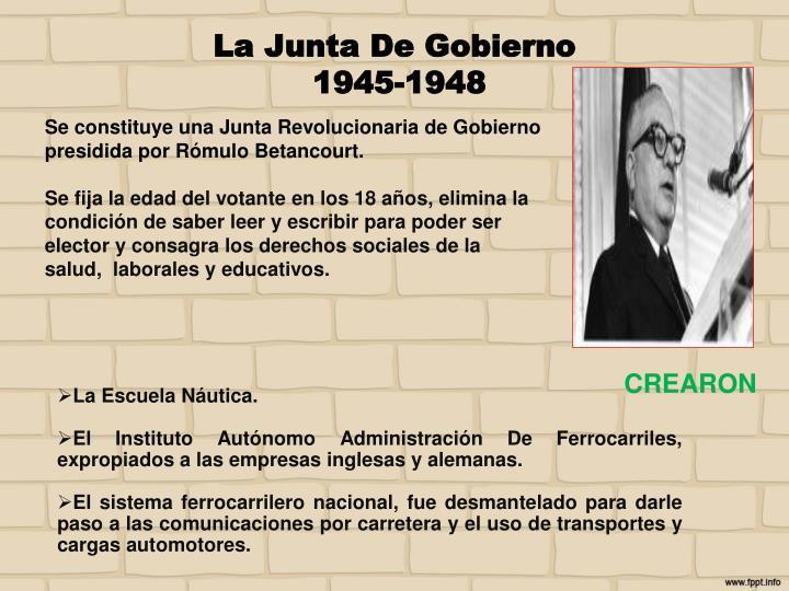 La Junta De Gobierno