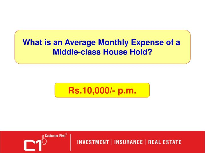 What is an Average Monthly Expense of a