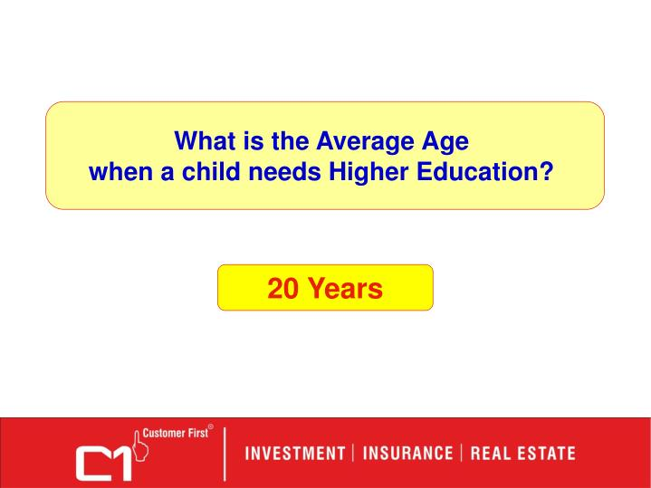 What is the Average Age