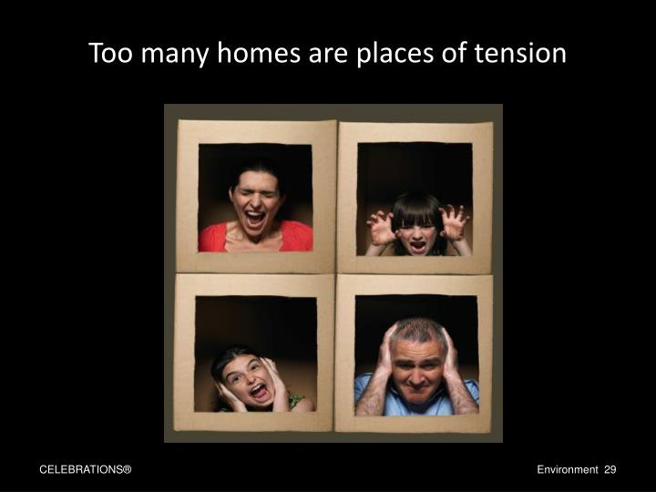 Too many homes are places of tension