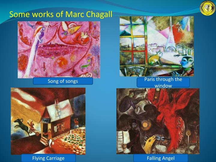 Some works of Marc Chagall